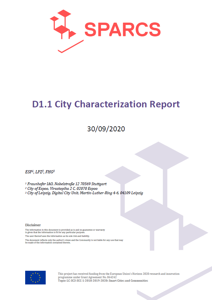 D1.01 City Characterization Report