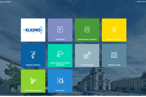 Kladno was awarded in prestigious Smart City competition - Dashboard